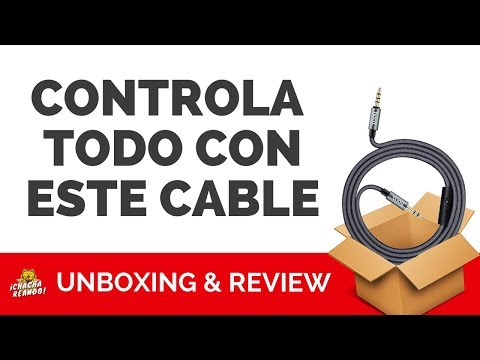 HOCO UPA04 Noble Sound Series 3.5mm AUX Audio Cable 1M | Unboxing en ESPAÑOL | Gearbest