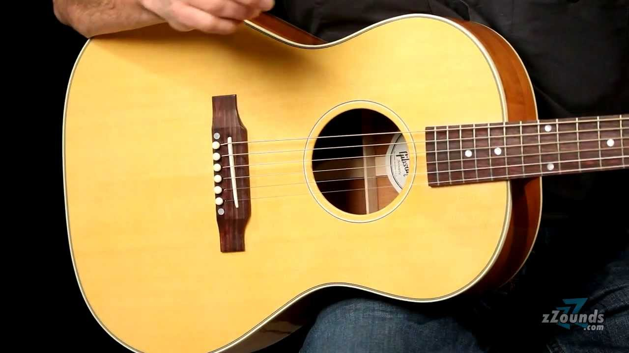 Zzounds Com Gibson Lg 2 American Eagle Acoustic Electric