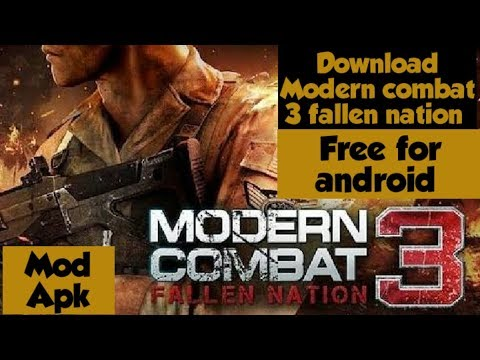 How To Download Modern Combat 3.fallen Nation On Android Free