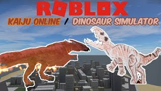 (Roblox Kaiju Online/Dinosaur Simulator) NEW KAIJU RODAN! + DINOSAUR SIMULATOR UPDATED!