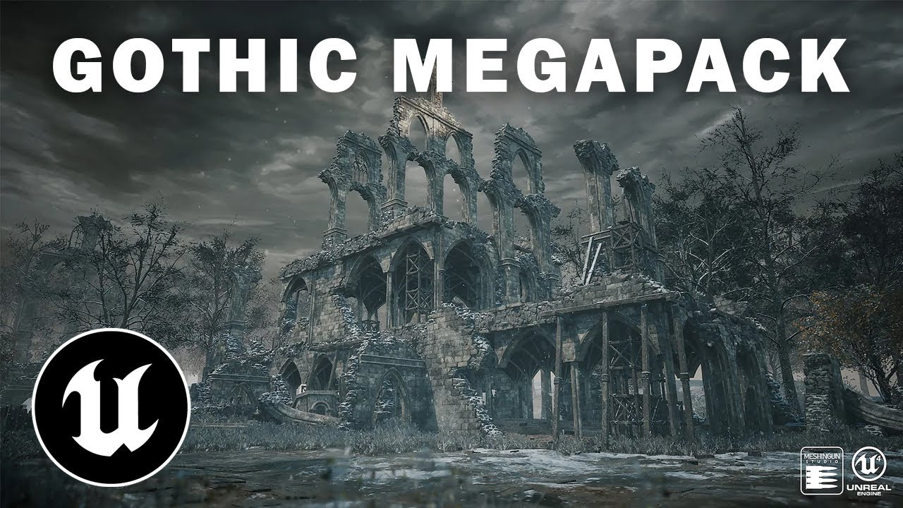 Unreal Engine | Gothic Megapack (REVIEW)