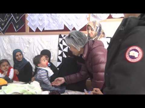 Kang Kyung wha visits Turkey's Kilis