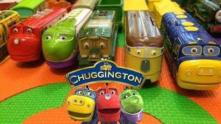 【trein speelgoed】 14 Chuggington Treinen met Engels kinderen Songs  (01041 z nl)