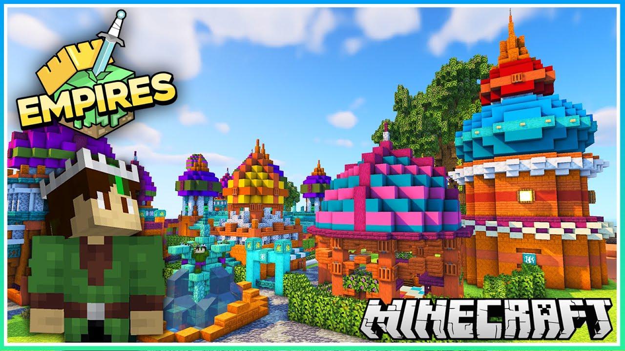 The Colourful Mezalean Village! | Empires SMP | Ep.9 (1.17 Survival)