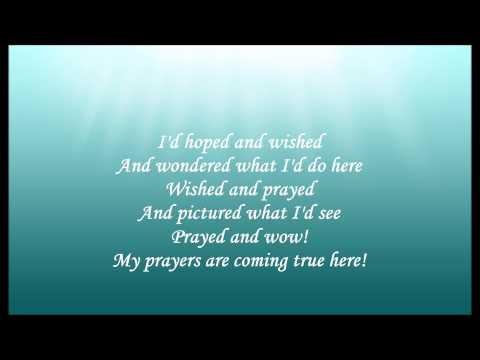 Beyond My Wildest Dreams Karaoke / Instrumental The Little Mermaid - The Musical