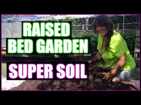 Raised Bed Garden Secret Super Soil Mix