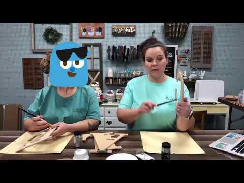 DIY WOODEN LETTER DECOR | BABY ROOM