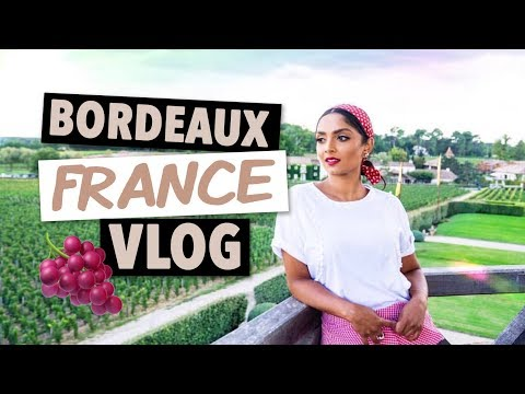 VLOG: My trip to Bordeaux, France! | Deepica Mutyala