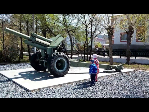 Музей военной техники под открытым небом. с.Месягутово
