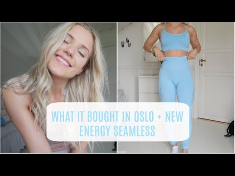WHAT I BOUGHT IN OSLO + GYMSHARK ENERGY SEAMLESS