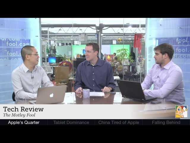 Apple's Quarter, Tablet Dominance & Google's Chromecast   Tech Weekly - July 26, Part 1 of 2