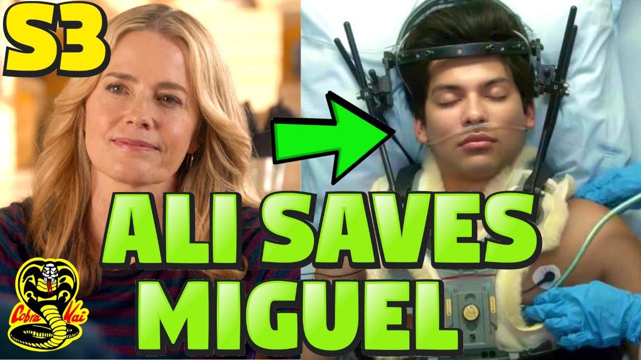 Download How Ali ALMOST Saved Miguel in Cobra Kai Season 3