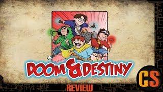 DOOM & DESTINY - PS4 REVIEW (Video Game Video Review)