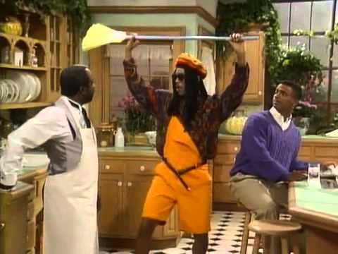 The Fresh Prince of Bel-Air - Will dressed as Bob Marley