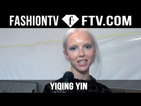 Yiqing Yin Backstage | Paris Haute Couture Fall/Winter 2015/16 | FashionTV