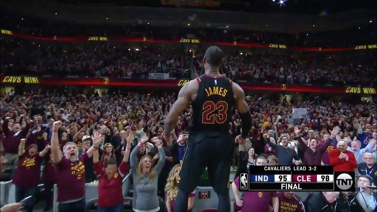 10d94e7d7174 All of LeBron James  Career Game-Winning Shots - YouTube