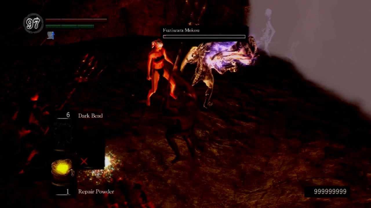 Maximum Damage in Dark Souls