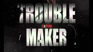 HYUNA  (김현아) & HYUNSEUNG (장현승)  Trouble maker  [FULL AUDIO] mp3