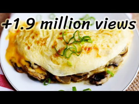 Mushroom Omelette breakfast Recipe