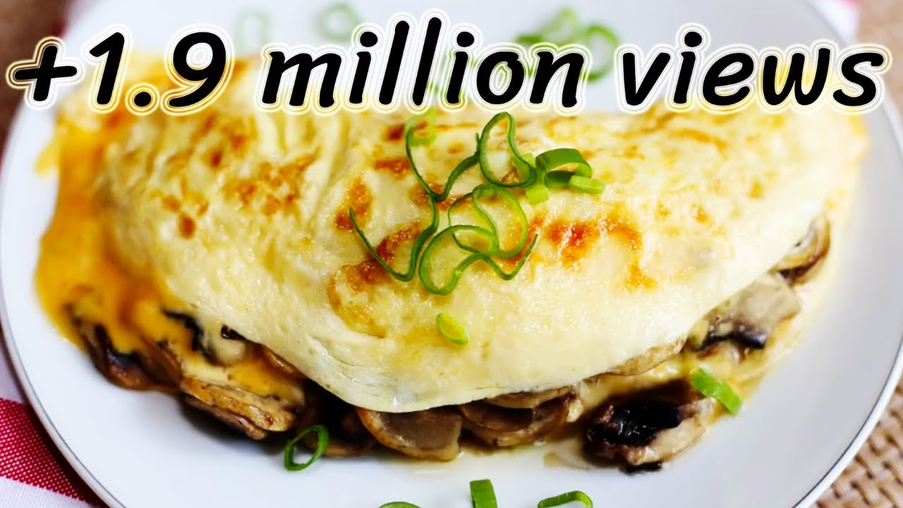 Image result for Chicken Omelette With Sauteed Mushrooms