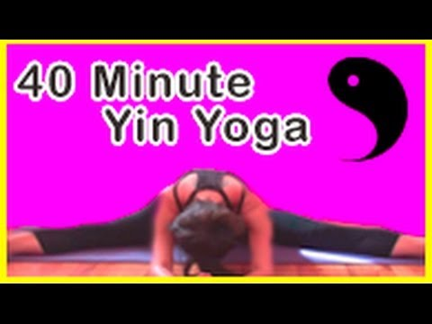yin yoga ☯ deep stretch for cyclists runners hikers