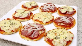 Lanche Rápido – Mini Pizza