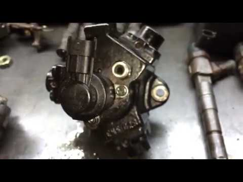 Проверка насосов высокого давления CP1H3/R и CP3/L