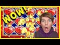 ★ WOW!! FULL SCREEN 'LOCK IT LINK'! ★ BIG WIN!! W/ MY FRIENDS!  Slot Pokies - Brent Slots
