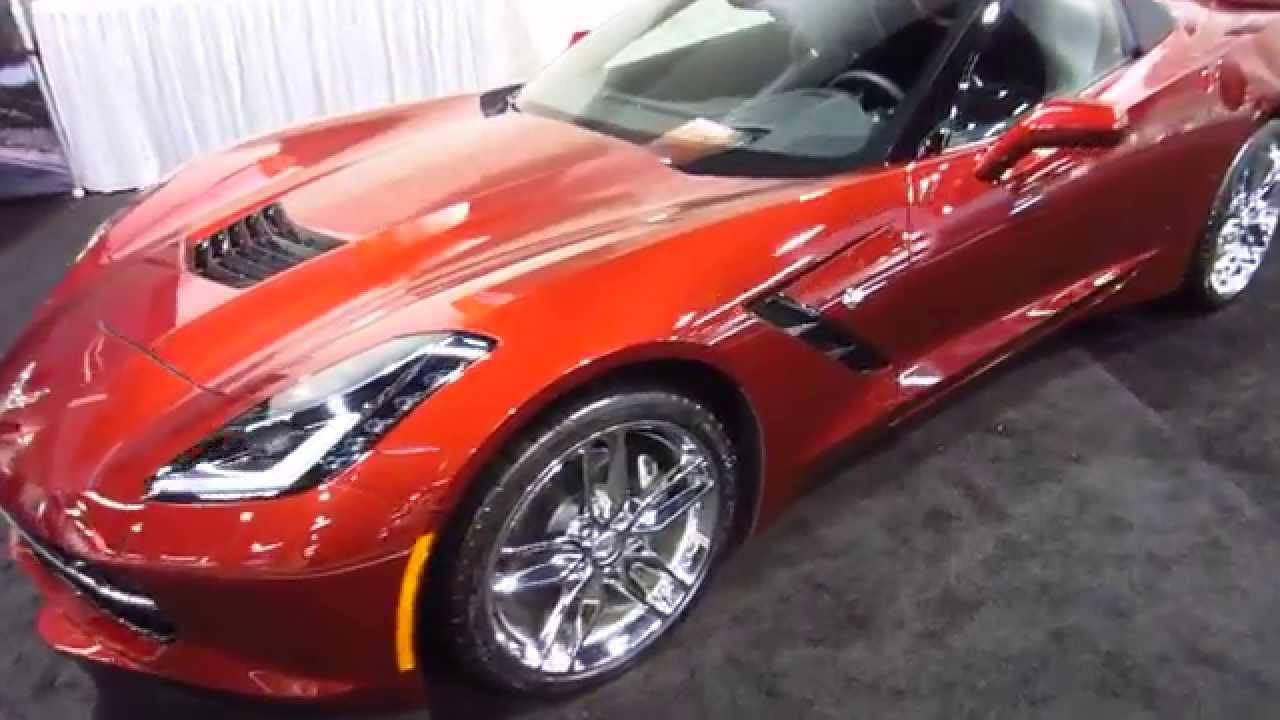 New 2016 GM Chevrolet Corvette - OC Auto Show, Anaheim ...