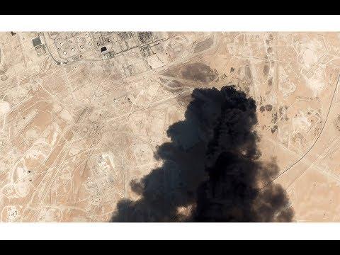 US blames Iran for drone attacks on Saudi Arabia's oil