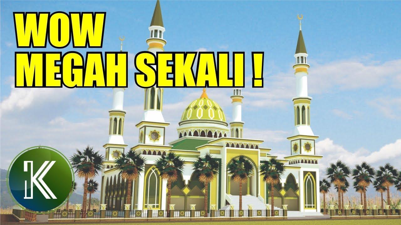 Subhanallah Ini Dia 5 Masjid Termegah Di Dunia Youtube