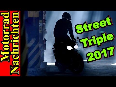 Triumph STREET TRIPLE 2017 | 250 PS- Aprilia RSV4 R-FW GP | Bonneville BOBBER | Motorrad Nachrichten