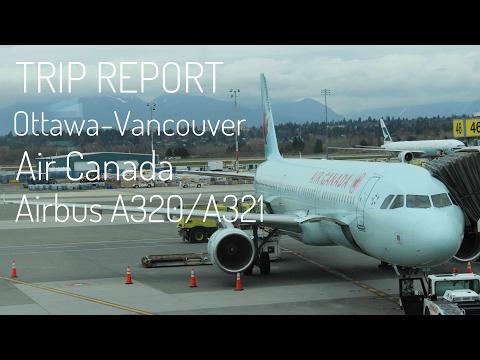 TRIP REPORT | Ottawa-Vancouver | Air Canada | Airbus A320/A321