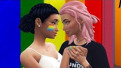 Crush on Best Friend #6 - LESBIAN DATING APPS?! | Sims 4 Story