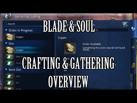 blade and soul crafting blade amp soul crafting amp gathering overview 3460