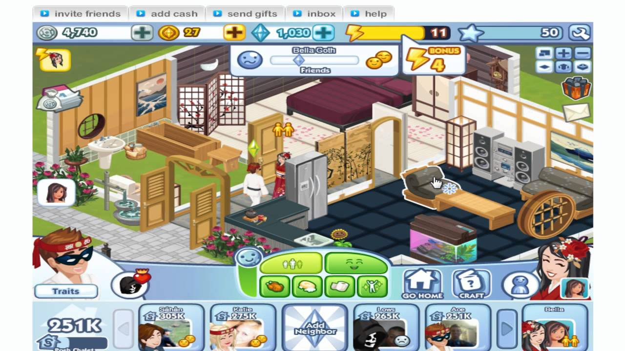 Sims Social MAX LEVEL 50 - TheAceCharming - YouTube