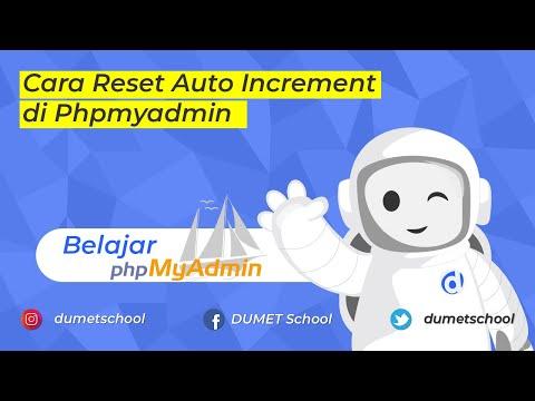 Cara Restart Phpmyadmin