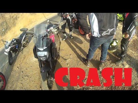Ducati Diavel Crash at Lavasa | Superbikes at Lavasa | SC Project Exhaust | Cornering