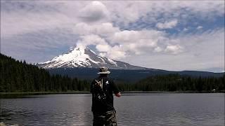 TROUT FISHING - FISHING WITH MOUNTAINOUS AT TRILLIUM LAKE - 2018