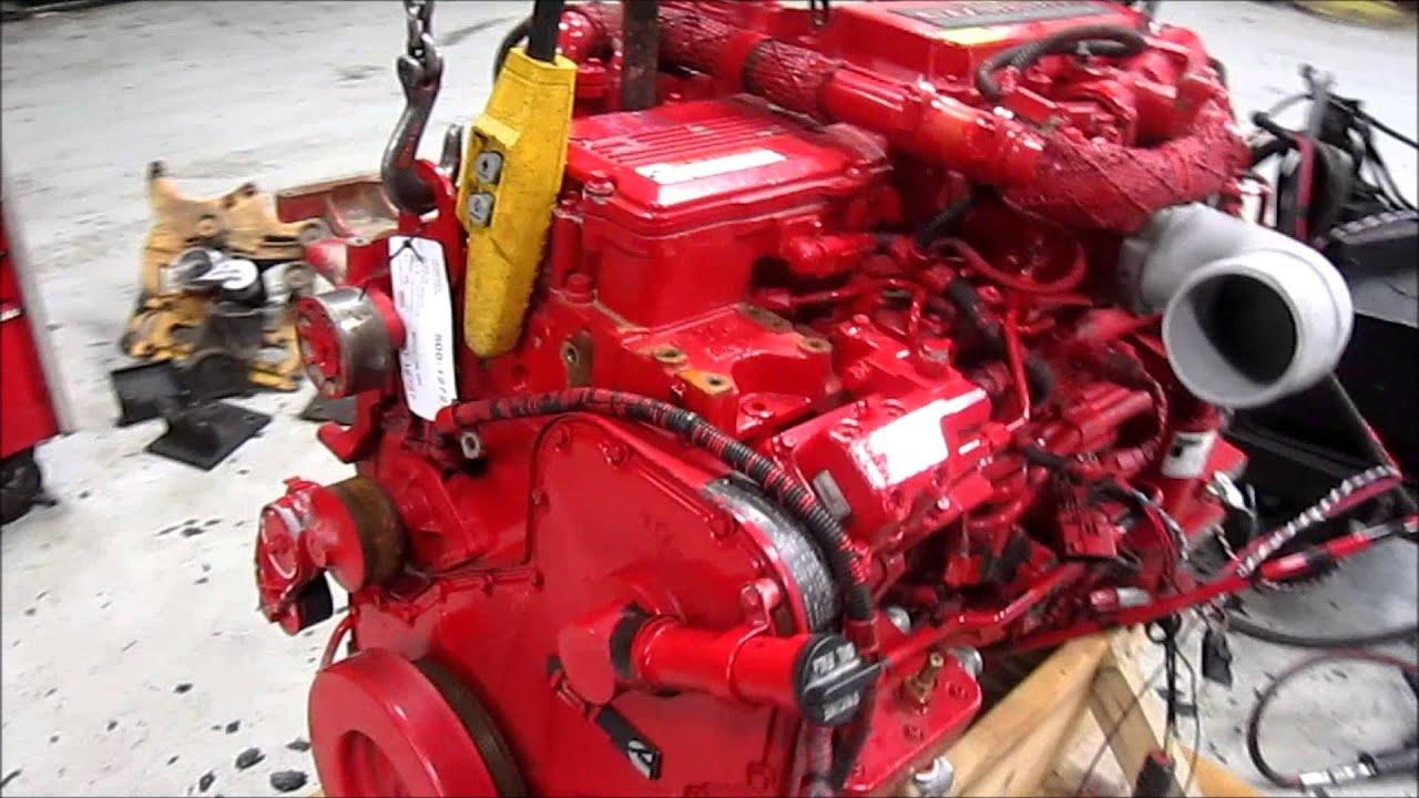 Cummins Diesel Engines >> 2010 Cummins ISL Diesel Engine Running - YouTube