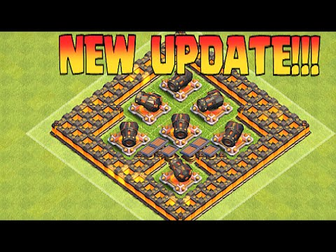 Clash Of Clans - NEW LVL 5 SPRING TRAP, LVL 14 CANNON & MORE ...