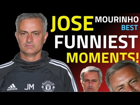 JOSE MOURINHO -FUNNIEST MOMENTS - BEST INTERVIEWS - ALL INSU