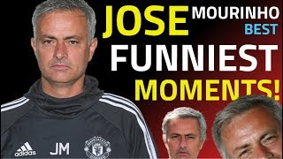 JOSE MOURINHO -FUNNIEST MOMENTS - BEST INTERVIEWS - ALL INSULTS - HILARIOUS MOMENTS FROM 2000-2019