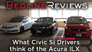What Civic Si Drivers think of the Acura ILX