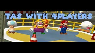 Mario Party 6 JPN - Party Mode E Gadd's Garage [TAS] With 4Players 26:01