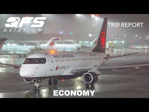 TRIP REPORT | Air Canada Express - E175 - Toronto (YYZ) To New York (LGA) | Economy