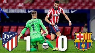 Atletico Madrid vs Barcelona [1-0], La Liga 2020/21 - MATCH REVIEW