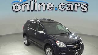 A99006GP Used 2015 Chevrolet Equinox LTZ AWD SUV Blue Test Drive, Review, For Sale