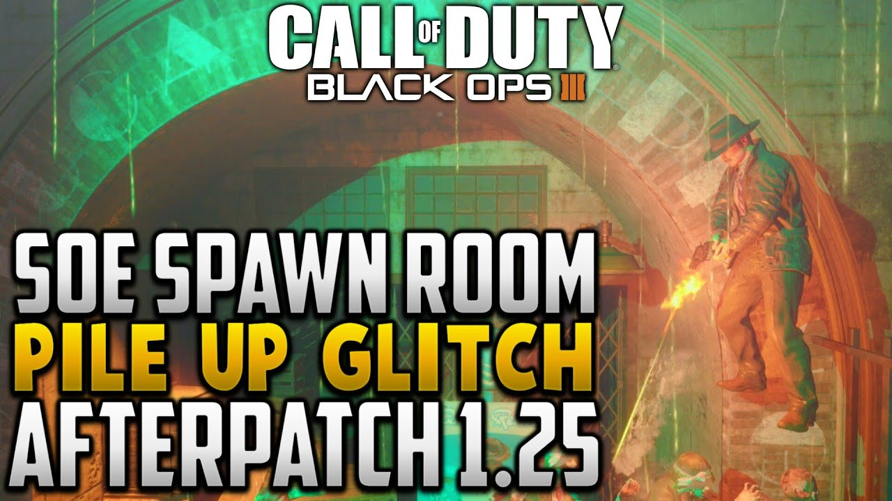 Black ops 3 Zombies Glitches:NEW shadows of evil solo spawn room ...