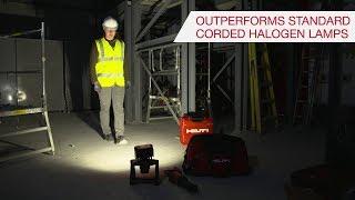 INTRODUCING Hilti SL 6-A22 Cordless Lamp